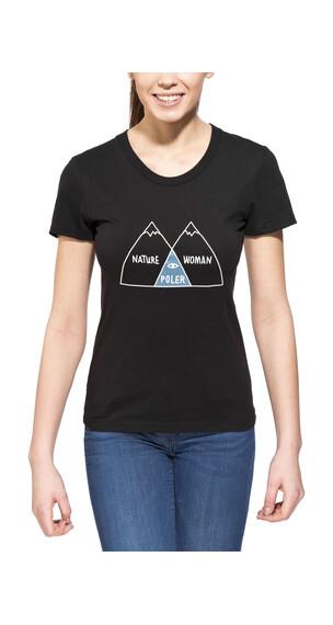 POLER Venn - Camiseta manga corta - negro